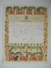 TELEGRAM uit 1951
