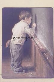 DECO BOARD - KRIJTEN OP SCHOOLBORD -