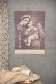 "POSTER ""madonna en child""- Jeanne d 'Arc Living"