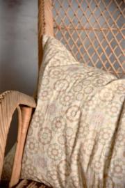 KUSSENHOES - vintage /retro style - 50x70 cm - Jeanne d 'Arc Living -