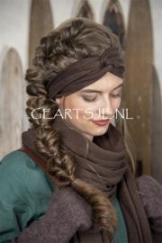 HAARBAND - Donker BRUIN - Jeanne d 'Arc Living