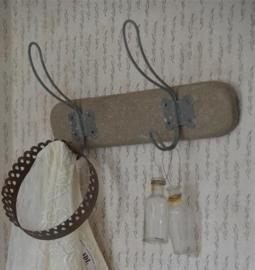 KAPSTOK - old wood - (35cm) - Jeanne d 'Arc Living