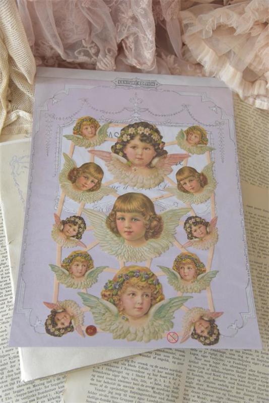 SCRAP ANGELS - patinated - Jeanne d 'Arc Living -