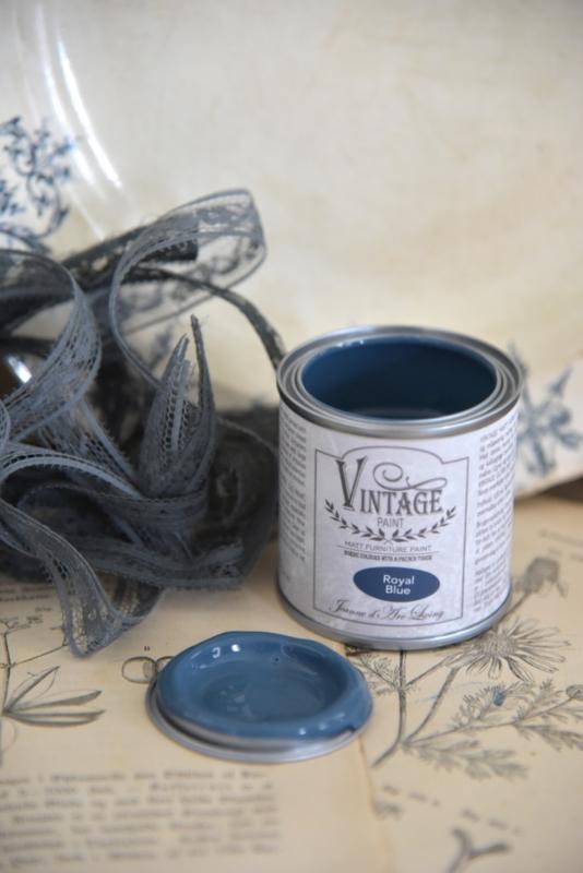 ROYAL BLUE (100 ml) VINTAGE PAINT - JEANNE D 'ARC LIVING -