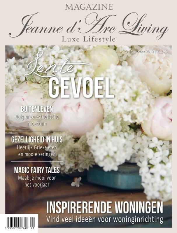 JEANNE D`ARC LIVING tijdschrift nr. 3-2018 (NL editie )