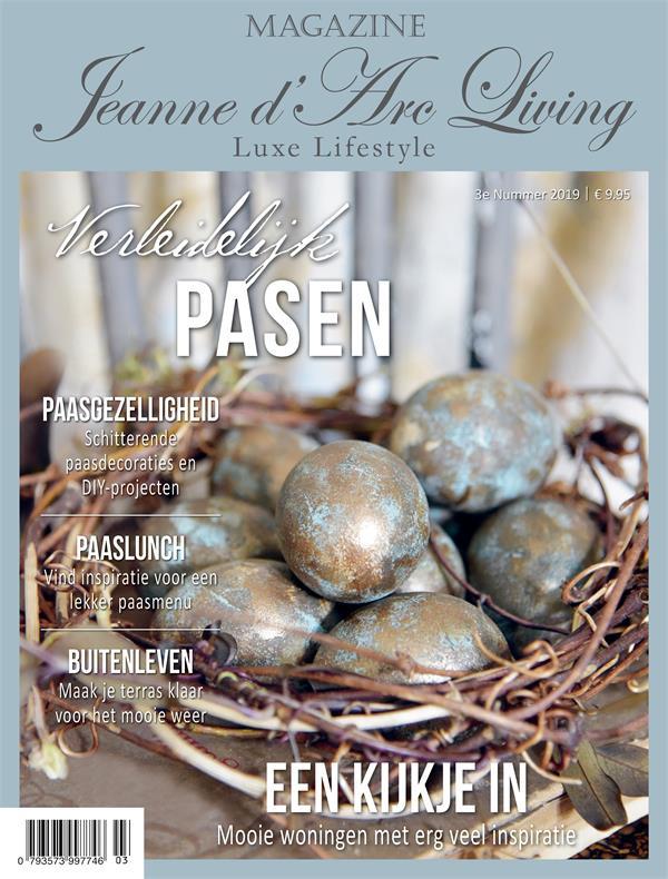 JEANNE D`ARC LIVING  - tijdschrift  nr. 3-2019 (NL editie )