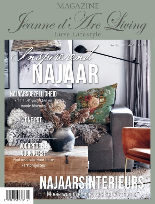 JEANNE D`ARC LIVING  - tijdschrift  nr. 7 -2020 (NL editie )