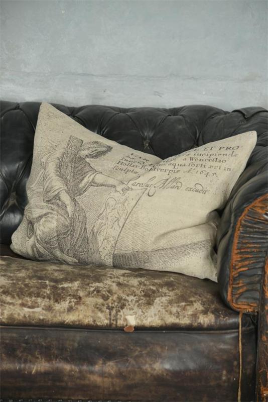KUSSENHOES - ARTIST - LINNEN  - Jeanne d 'Arc Living - 50x70 cm -
