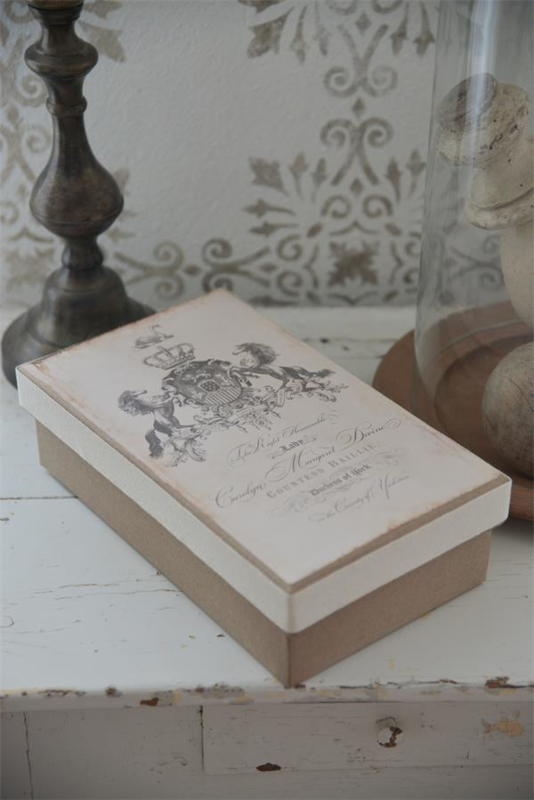 DOOS / STORAGE BOX -  Jeanne d 'Arc Living