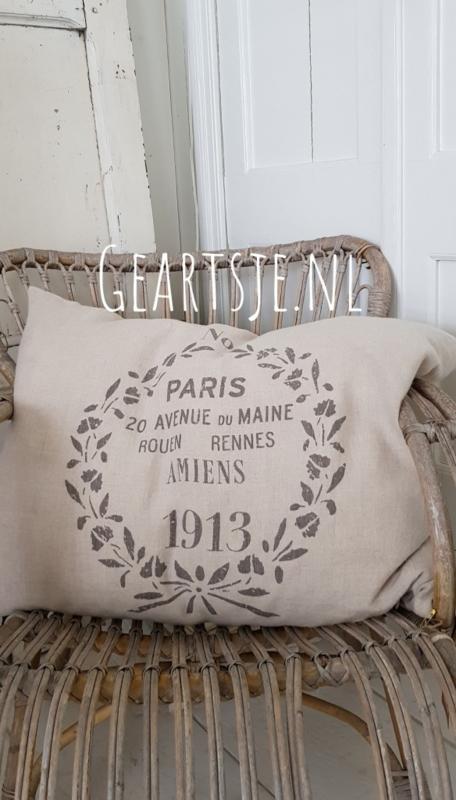 KUSSENHOES - AMIENS - Jeanne d 'Arc Living - 50x70 cm  linnen