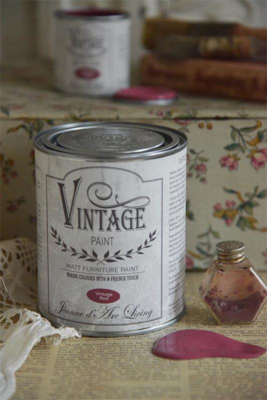 VINTAGE RED (700 ml) VINTAGE PAINT - JEANNE D 'ARC LIVING -