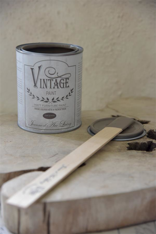 DARK POWDER - (700 ml) - VINTAGE PAINT - JEANNE D 'ARC LIVING -