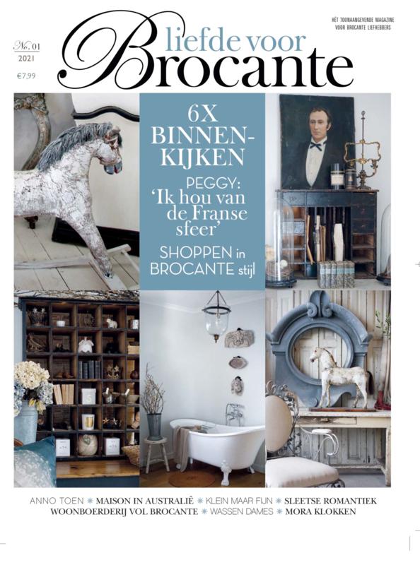 Magazine - LIEFDE VOOR BROCANTE - nr.1 - 2021 -
