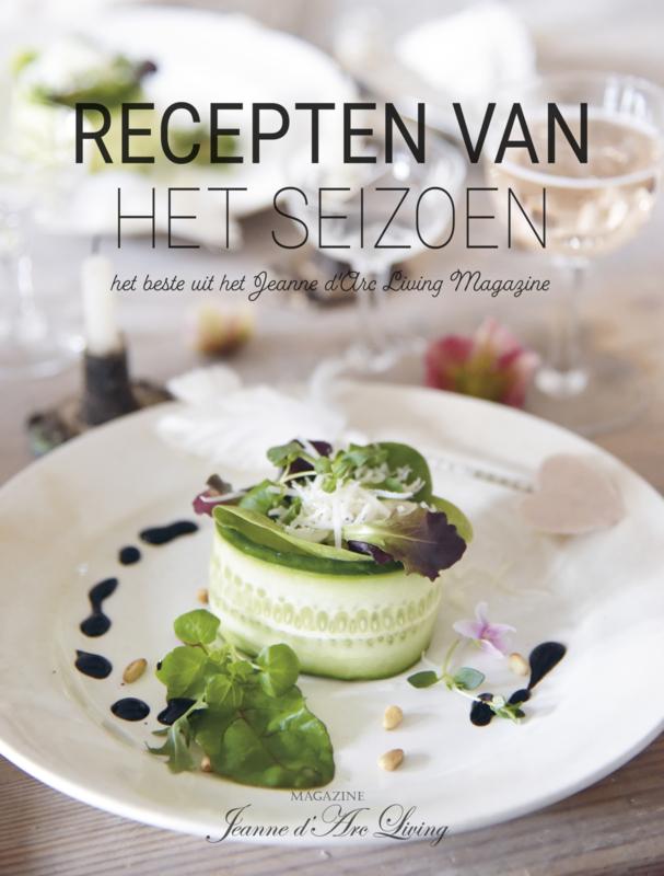 'RECEPTEN van het SEIZOEN'  (speciale editie NL) Jeanne d 'Arc Living