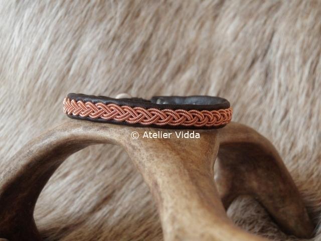 "Saami Armband ""Copper"""