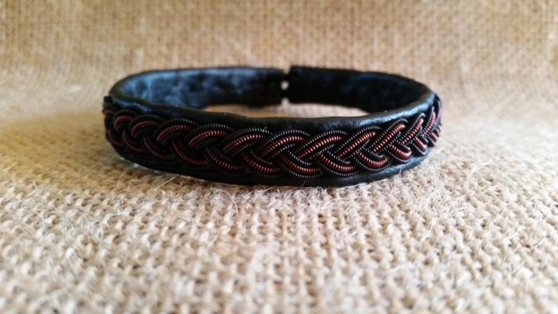 Saami Armband Black & Brown