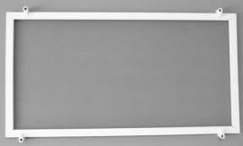 Voorzethor Basic 19mm zonder lip (standaard)