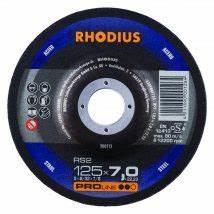 Rhodius afbraamschijf 125x7,0x22,23