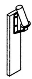 Pos. 104 Duwhout met crosshandvat