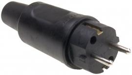 Contactstop rubber 230V