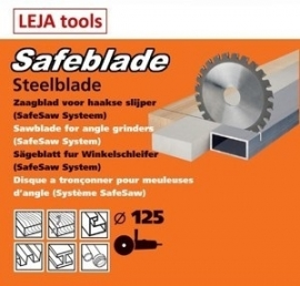 Safeblade zaagblad 125mm/22,2/25,4mm