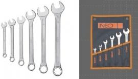 Steek-ringsleutelset Neo Tools