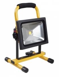 LED accu-bouwlamp 20 Watt (Vetec)