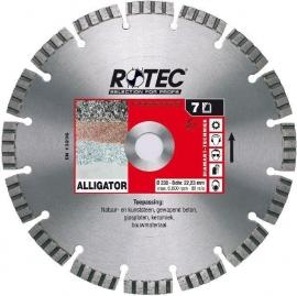 Diamantschijf Alligator Gewapend beton