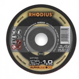 Doorslijpschijf pak a 10 stuks Rhodius XT70 125x1,0x22,23mm