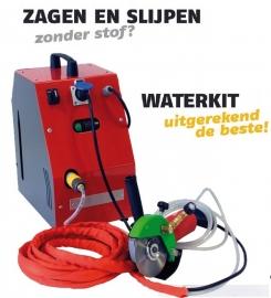 Natslijpsysteem Waterkit voor slijptol 125mm