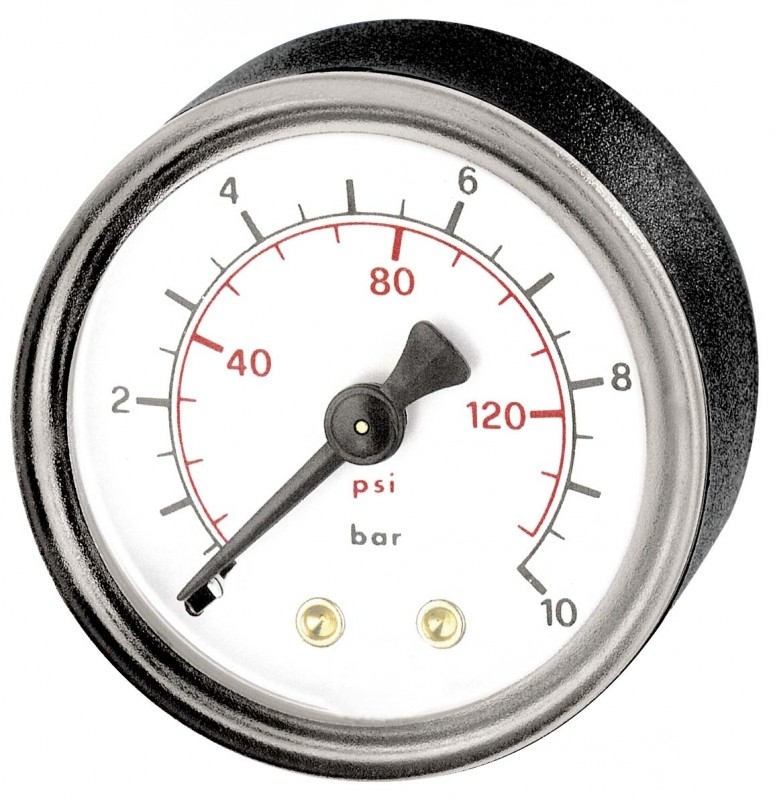 """Manometer 50mm 1/4""""(Achter) 16 bar"""