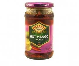 Pataks hot mango pickled 283 gr