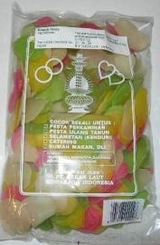 Kroepoek bawang ongebakken 250 gr