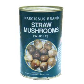 Straw mushrooms (heel) 425 gr