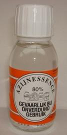 Azijnessence 80%  inhoud 100 ml