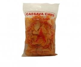 Cassava chips chilli gebakken 250 gr