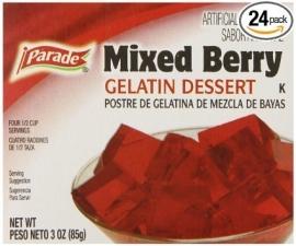 Parade Mixed Berry