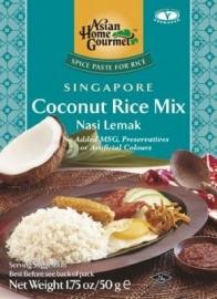 Nasi Lemak (coconut rice mix) Asian Home 50 gram