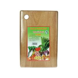 Snijplank hout vierkant 30 cm
