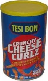 Cheese curlz tesi bon 140 gr