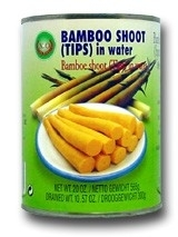 Bamboo shoot (tips) in water 565 gr