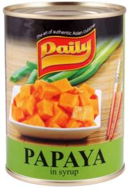 papaya in siroop 565 gr