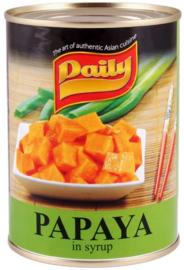 papaya in siroop 565 gr