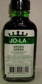 Jola groen kleurstof 50 ml