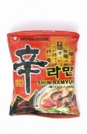 Nong Shim Shin Ramyun Hot&spicy Noodle