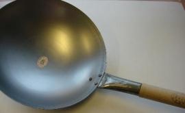 Wok pan/ Wadjan 30cm, ijzer