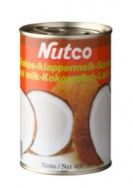 Nutco kokos melk 400 ml