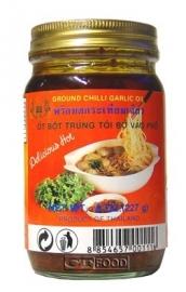 Ground chilli&Garlic in oli 227 gr
