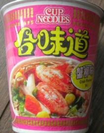 Nissin Cup  Crab