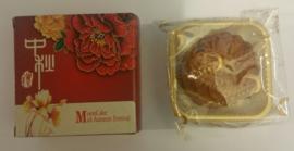 Mini Mooncake met witte lotus pasta met eidooier